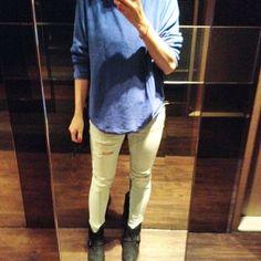 Boyish  #ootd #outfit #outfitoftheday #liketkit #lookbook #lookoftheday #fashion #fashionstyle #dailywear #zara #streetwear #streetstyle #summeroutfit #streetfashion # by ma_bluemory
