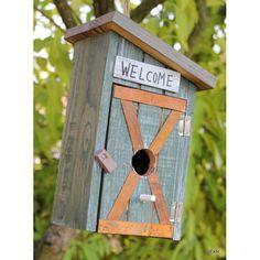 Šášop - Hravé ptačí budky a krmítka - Dřevěné ptačí budky