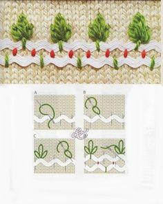 Stitch with ricrac