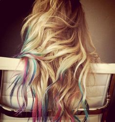 P A S T E L  or bold colored human hair by LawlessANDlulu on Etsy, $46.00