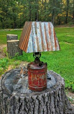 I like this lampshade idea.