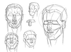 32 best Drawing the human head images on Pinterest | Drawing ...