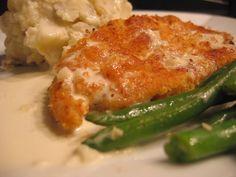 Crispy Chicken Costoletta - Cheesecake Factory copycat recipe. Hubby's favorite!