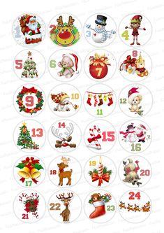 Christmas Arts And Crafts, Christmas Gift Tags, Christmas Activities, Holiday Crafts, Christmas Crafts, Christmas Decorations, Christmas Countdown Calendar, Diy Advent Calendar, School Christmas Party