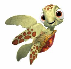 """Squirt from """"Finding Nemo"""", 2003"""