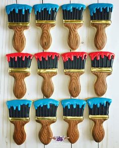 Aren't these the most perfect paint brushes you have ever seen? @the_sweet_gypsy asked us to create a paint brush cutter for her for…