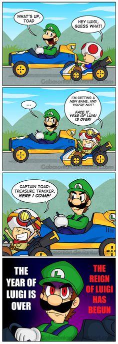 The Reign of Luigi by Gabasonian.deviantart.com on @DeviantArt