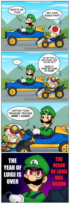 The Reign of Luigi by Gabasonian.deviantart.com on @DeviantArt