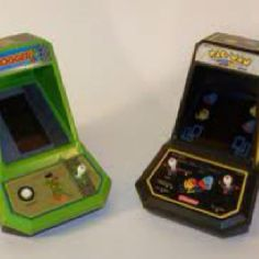 Took over my brothers Frogger game. I was obsessed!