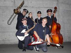 Die Band der Heilsarmee in der Schweiz, die beim Eurovision Song Contest 2012 mitmacht!