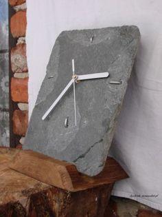 Zegar ścienny, kamień naturalny łupek, Biłgoraj - image 7