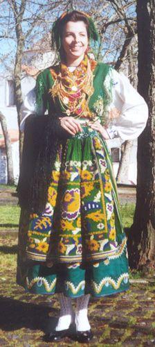 Traje antigo de Lavradeira de Geraz do Lima- Portugal