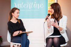 Running interview with experts at our workshops for future brides and grooms / Podczas wywiadu z ekspertką - gościem organizowanego przez Be My Valentine spotkania dla Par Młodych