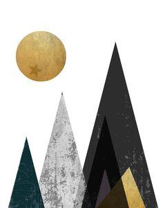 art quadros Modern Minimalist Art Triptych Set of 3 Prints Geometric Grey Wall Art, Modern Wall Art, Street Wall Art, Affordable Wall Art, Poster Prints, Art Prints, Mountain Art, Typography Prints, Minimalist Art