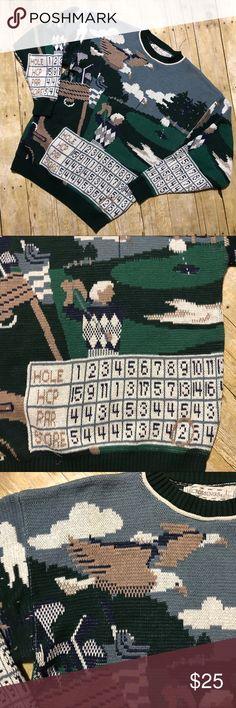 Looking Great - Ladies Golf Fashion - Golf Pro Tips Golf Scorecard, Green Cream, Golf Fashion, Golf Outfit, Vintage Knitting, Ladies Golf, Flaws, Men Sweater, Vintage Fashion