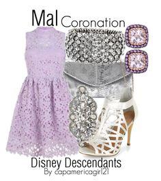 Mal: Coronation Dress by capamericagirl21 on Polyvore
