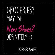 Shoe Love♥♥♥ #ShoesQuotes #Krome