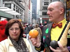 Mr Divabetic plays his food game, Serve, Taste or Trash! at 68th Annual Columbus Day Parade in NYC. Get inspired to live like a DIVA at divabetic.org