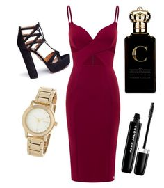 """Untitled #3"" by annamaria-vr on Polyvore featuring Aquazzura, DKNY, Clive Christian and Marc Jacobs"