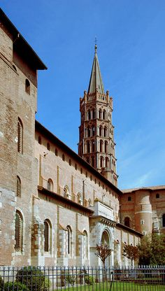 St Sernin Basilica, Toulouse, France