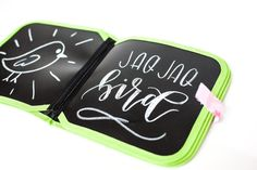 Jaq Jaq Bird | Doodle It & Go Chalk Book