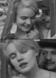 Carroll Baker & Eli Wallach in Baby Doll (1956, dir. Elia Kazan, screenplay by Tennessee Williams)