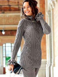 Облегающий пуловер покроя реглан.