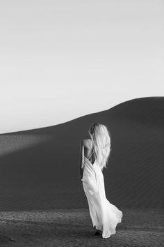 Slip Gowns / The LANE Infinite Light Editorial