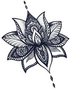 "❤❤❤ ""The flower doesn't dream of the bee. It blossoms, and the bee comes."" • • • @Tattoopontocom @babeswithtats @inspirationsoftattoo @insigniatattoo @artblessed_ @tattooselection @tattooinke @txttooing @tatuagensnasfotos @inkstinctcolors @show_tattoo @tattoomode @inkstinctofficial @tattoosvida #lotusflower #lotusflowertattoo #tattoo #inked #ink #flower #tattooflor #flowertattoo #flordeloto #tattooflordeloto #design #tattoodesign #mandala #mandalas #zentangle #zen #art #arte #artist #doodle…"
