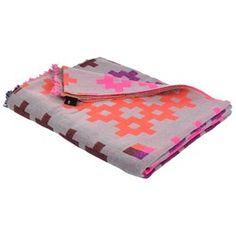 Plus 9 Plaid, pink, Hay, Hay Design Shop, Hay Design, Picnic Blanket, Outdoor Blanket, Shops, Silver Rings Handmade, Plaid Design, Soft Furnishings, Wool Blanket