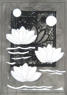 """andrea mattiello """"memoria di una lacrima""""   acrilico e collage su cartone vegetale cm 36x51,5; 2012 #arte #art #artecontemporanea #artista #artistaemergente #creatoredimmagini #tecnicamista #carta #paper #collage"""