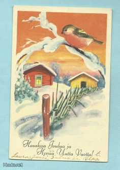 Olavi Vikainen Illustrators, Christmas Cards, Painting, Vintage, Art, Christmas E Cards, Art Background, Painting Art, Kunst