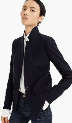 Dover blazer in Italian wool #fashion #womensfashion  #outfits  #Repin by https://www.kensington-bespoke.uk - Bringing the #chic and #style of #Kensington High Street direct to your home.