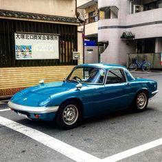 "8 mentions J'aime, 1 commentaires - Ken Brady (@kenbrady) sur Instagram: ""Oh, hello. #lotus #elan #classiccar #rhd #tokyo #japan"""