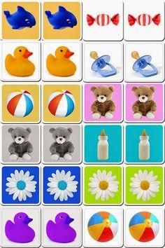 Planeta Atividades: 10 jogos da memória educativos para imprimir, recortar e brincar! Jogos educativos para crianças