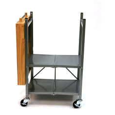 Origami Folding Kitchen Island Carts Efficient In Its Use : Origami Folding  Kitchen Island Cart Towel Bar | Kitchen Islands | Pinterest | Kitchen Island  ...
