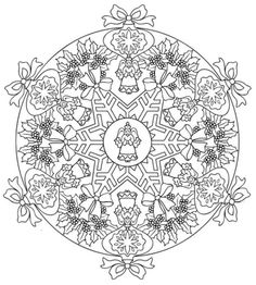 mandala 616 christmas designs 3d coloring book dover publications