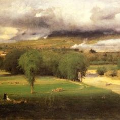 George Inness - Sacco Ford, Conway Meadows