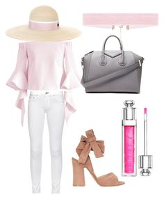 """""""Spring 2017"""" by alex-baysinger on Polyvore featuring Chicwish, Givenchy, Christian Dior, Maison Michel, Gianvito Rossi and rag & bone"""