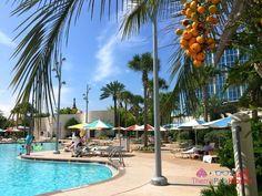 Review & Guide: Universal Orlando Cabana Bay Beach Resort - ThemeParkHipster Best Disney Hotels, Orlando Resorts, Universal Orlando, Beach Resorts, Cabana, Vacation, Outdoor Decor, Vacations, Cabanas