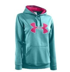 Under armer hoddie (( Hoddie is purple w pink... A $54 with sale an my coupon I got it for $22:)) always LOVE a sale/deal!!!))