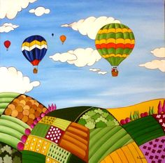 ana sanchez marin pintura naif - Buscar con Google