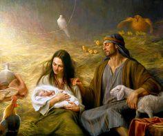 Mary, Joseph & Baby Jesus. ✝️