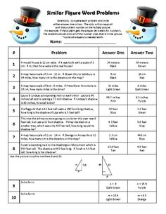 Middle and high school students enjoy color by number worksheets ...