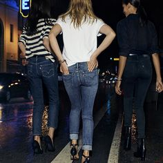 Levi's women's denim collection!  #LiveinLevis #VogueInfluencer #Fall2015
