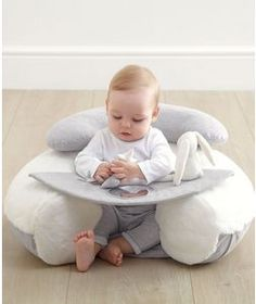 My First Sit & Play - Grey/White baby My First Sit & Play Infant Positioner Baby Toys, Baby Play, Infant Play, Baby Position, Baby Life Hacks, Baby Gadgets, Baby Necessities, Baby Pillows, Baby Furniture