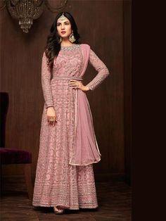 B4UFashion Present New Arrival Partywear Pink Nylon Net Anarkali Salwar Suit For Order 📲9033763613 📲07572803833   🌍🌍Worldwide Delivery🌍🌍  #anarkalisuit #anarkali #Dress #salwaarsuit #lehengacholi #lehenga #saree #indianfashion #indianwear #indianwedding #bridalfashion #bollywoodstyle #ethincfashion #fashion #sareelove #indianfashion #weddinginspiration #beautifulbride #wedding #shopping #b4ufashion #indianfashionblogger