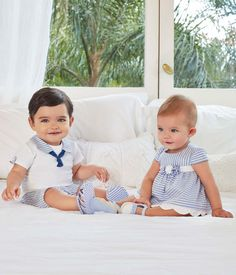 Buy Mayoral baby clothes from Zero 20 kids Mayoral clothes superstore. Shop our inventory of Mayoral childrenswear. Cute Baby Twins, Twin Baby Boys, Cute Little Baby, Twin Babies, Baby Kids, Infant Boys, Twin Outfits, Baby Boy Outfits, Kids Outfits