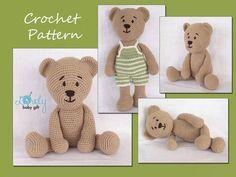 Crochet Pattern Amigurumi Crochet Teddy Bear von LovelyBabyGift