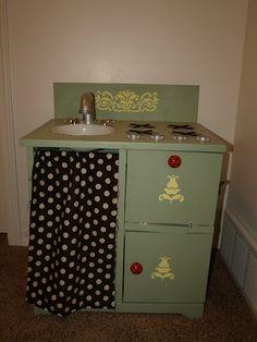 homemade kitchen